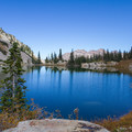 Red Pine Lake. - A Weekend in Little Cottonwood Canyon