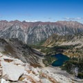 View from Alpine Ridge. - A Weekend in Little Cottonwood Canyon