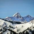 The Pfeifferhorn from Scott Hill.- 5 Great Snowshoe Trails Near Salt Lake City