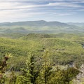 A preview of the views from the summit to the west.- 15 Must-see Fall Foliage Adirondack Adventures