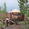 Phoenix Ridge Yurt.- Phoenix Ridge Backcountry Yurt