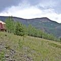 Yurt is surronded by La Garita Wilderness.- Phoenix Ridge Backcountry Yurt