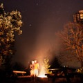 Campfire, beers, and stars: Pickett Butte Fire Lookout is the perfect place for them all!- Fire Lookouts of the West