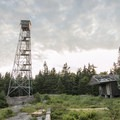 The Pillsbury Mountain Fire Tower.- Adirondack Fire Tower Hikes