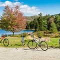 Spend a whole day or a whole weekend hopping from scenic pond to scenic pond at Pillsbury State Park.- 20 Best Family-Friendly Adventures in New Hampshire