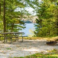 Typical campsite at Pillsbury State Park near Lake Sunapee.- New Hampshire's Best Lakes for Summer Adventure
