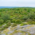 View from the Pitcher Mountain fire tower.- Best New Hampshire Towns for Family Adventure