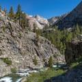 View toward Piute Canyon.- John Muir Trail (JMT) Overview