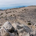 Summit plateau on San Gorgonio.- 10 Great Hikes in the San Bernardino Mountains