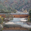 The historic Bridgeport Covered Bridge in South Yuba River State Park.- Examining The Sacramento Watershed: The Water
