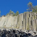 Devils Postpile National Monument.- Exploring California's Eastern Sierra
