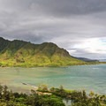 The first view of Kahana Bay as you begin to climb Pu'u Manamana Turnover Trail.- 5 Warm-Weather Winter Getaways