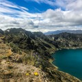An abundance of wildflowers graces the Ecuadorian high country!- Quilotoa Loop Trek