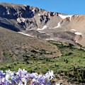 Redcloud Peak view from the approach basin.- 5 Incredible Hikes in Colorado's San Juan Mountains