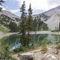 Lower Red Pine Lake.- Lone Peak Wilderness