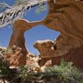 Metate Arch in Devils Garden.- Devils Garden