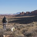 Views on the hike to Reflection Canyon.- Reflection Canyon