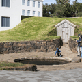 Snorri's Pool and restored tunnel.- Guide to Iceland's Ring Road