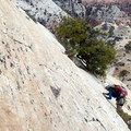 North Guardian Angel Climb in Zion National Park.- Utah's Five National Parks