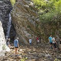 Rocky Mouth Falls in the town of Draper along the Wasatch Front.- Wasatch Waterfalls
