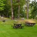 Rogers Rock: Picnic area.- 10 Amazing Camping Spots in the Adirondacks