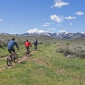 If you go to Round Valley in the early summer you will be greeted with lush greens in all directions.- The Best Mountain Biking in Park City, Utah