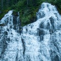 Royal Falls can be seen on the way to the upper basin near the ranger station.- Olympic Peninsula Waterfall Road Trip