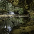 Rock Bridge Falls.- A Weekend in Kentucky's Red River Gorge