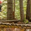 One of many bridges on A River Runs Through It.- Mountain Biking in British Columbia