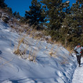 Mount Sanitas, near Boulder, makes a great winter trail run.- 40 Must-Do Winter Adventures