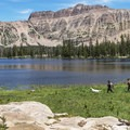 The Uinta Mountains are dog heaven. Ruth Lake.- The Best Hiking in Park City, Utah