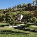 The Meditation Chapel in Memory Grove near City Creek Canyon.- Adventure in the City: Salt Lake City