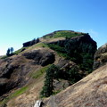 View of Saddle Mountain's summit.- Oregon's 75 Best Day Hikes