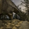 Sky Bridge Arch.- A Weekend in Kentucky's Red River Gorge