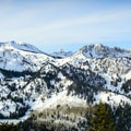 The Cottonwood Ridge from Scott Hill. - 5 Great Snowshoe Trails Near Salt Lake City