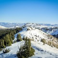 East ridge of Scott Hill.- 22 Must-do Snowshoe Trails in the West