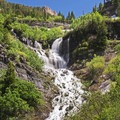 Scout Falls.- Mount Timpanogos Wilderness