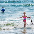 The sparkling waters at Seabrook Beach offer kids of all ages the perfect place to cool off on a hot summer day.- 20 Best Family-Friendly Adventures in New Hampshire