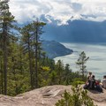 Views of Howe Sound along the Sea to Sky Trail in British Columbia.- 15 Dog-friendly Coastal Adventures That Should Be On Your Bucket List