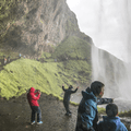 Walk behind Seljalandsfoss.- 14 Must-Do Activities In Iceland