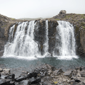 A magnificent waterfall along the Fjardara.- Guide to Iceland's Ring Road