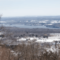 Shaupeneak Ridge: Overlooking Lloyd and the Hudson River.- Hudson Valley's 8 Best Snowshoe Adventures