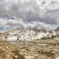 Sliver Pass lies beyond Chief Lake.- John Muir Trail (JMT) Overview