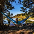 Relaxing in the Sky High Lakes Basin.- 2017: The Year of the Outdoor Woman