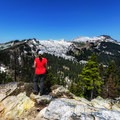 Gorgeous views on the hike to the Sky High Lakes Basin.- 2017: The Year of the Outdoor Woman