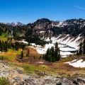 Sky High Lakes Basin from above.- 2017: The Year of the Outdoor Woman