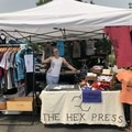 The Hex Press screenprinting on-site at the 2018 Outdoor Project Salt Lake City Block Party.- Outdoor Project's 2018 Block Party Festival Series Recap