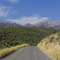 Heading up South Willow Canyon Rd to reach the Deseret Peak Wilderness. - Deseret Peak Wilderness