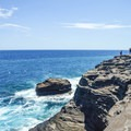 The cliff surrounding Spitting Cave is the perfect place to watch the sunset!- A 3-Day Itinerary to the Best of Honolulu