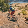 Mountain biking allows you to push yourself past what you thought was possible. Photo by Michelle Pearl Gee.- Taking Your Mountain Biking Skills to the Next Level